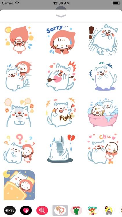 Ami Cute Emotes Sticker Pack screenshot-3