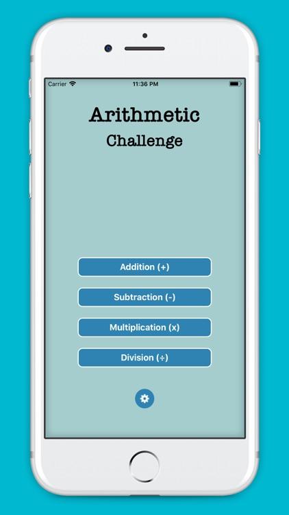 Math: Arithmetic Challenge