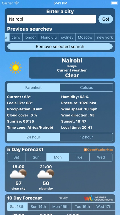 Weather Centre 10 Day Forecast screenshot-4