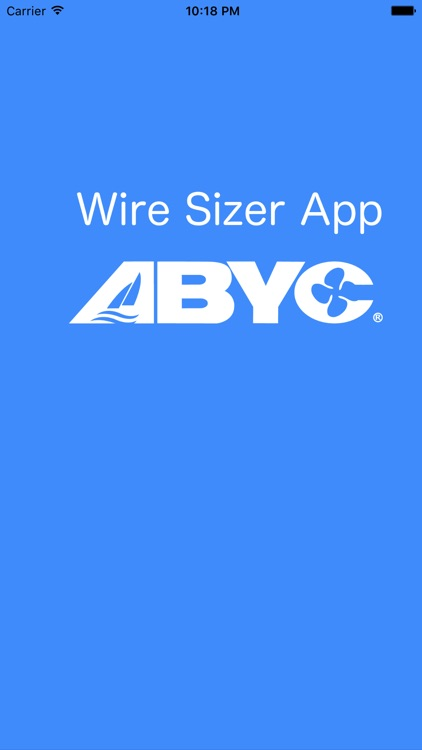 ABYC Wire Sizer