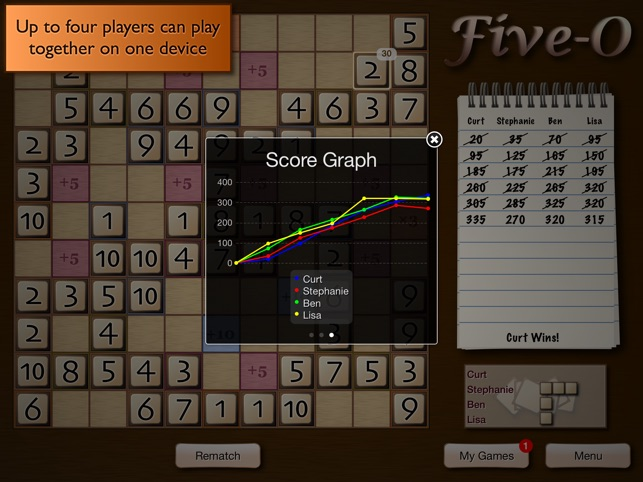 Five-O Deluxe Screenshot