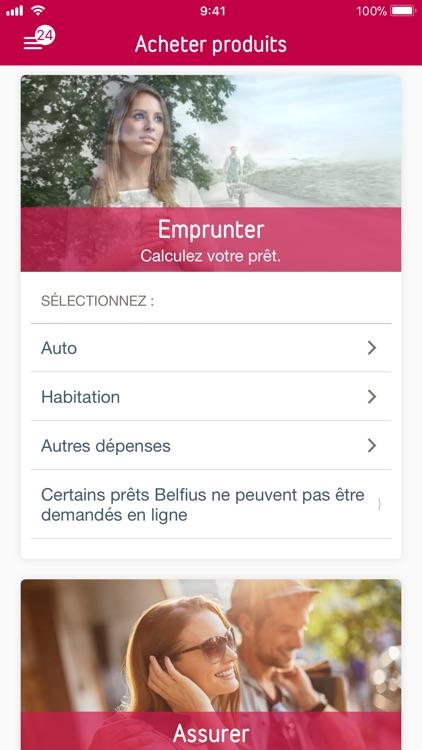 Belfius Mobile screenshot-4