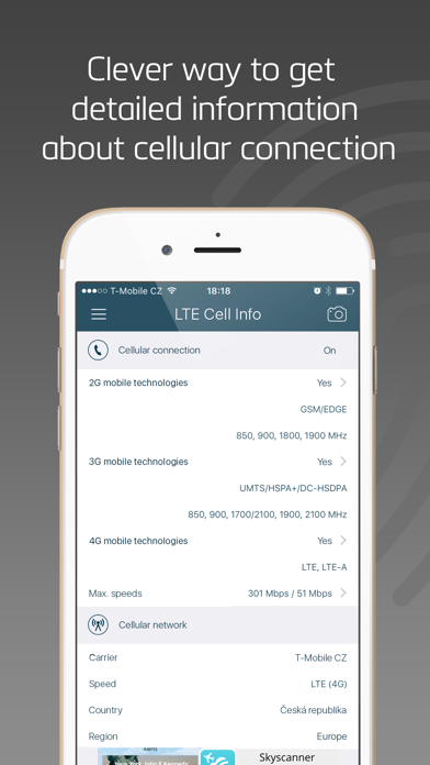 LTEセル情報:ネットワークステータスのおすすめ画像1