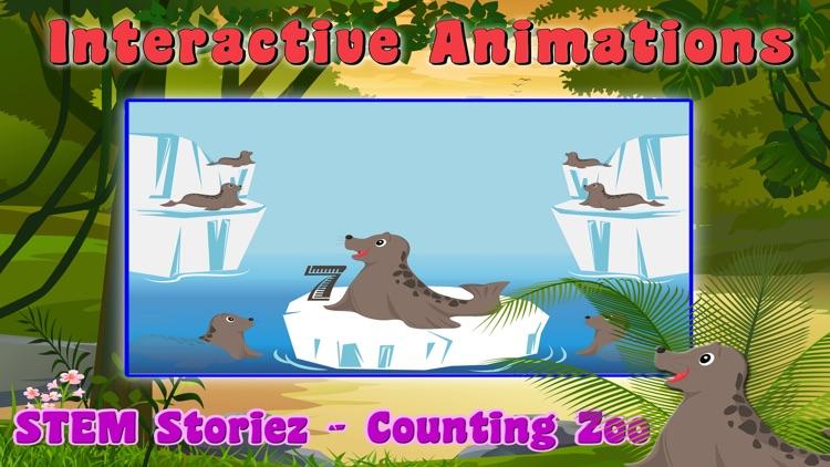 STEM Storiez - Counting Zoo screenshot-4