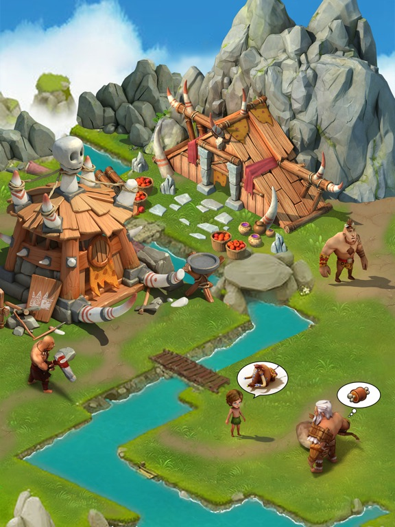 Survival Mobile:10,000 BC-ipad-2