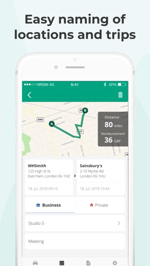 mileage tracker by driversnote on the app store