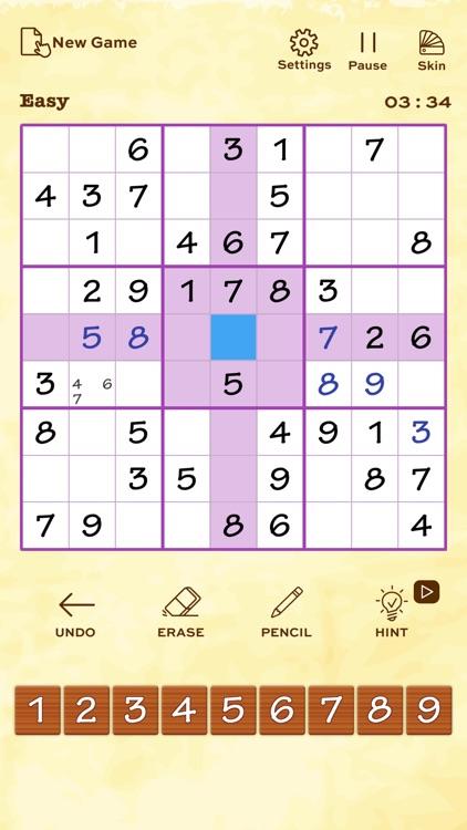 Sudoku Puzzle Games Logic Sudo screenshot-4