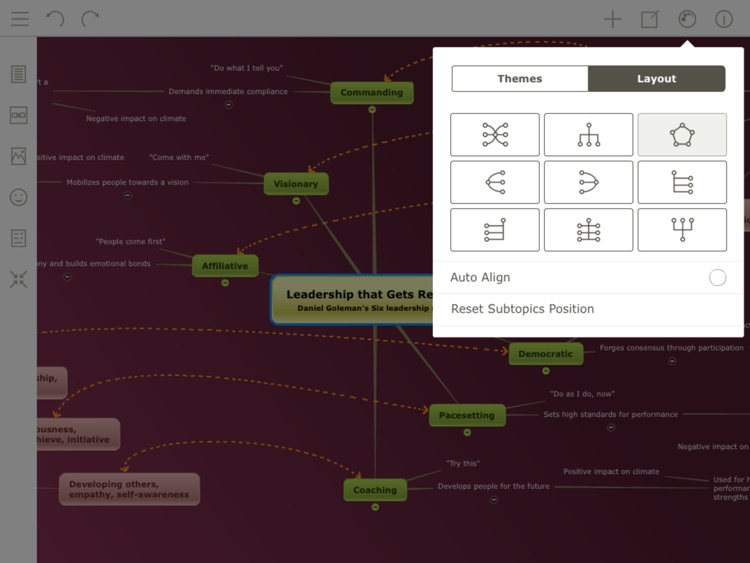 Mindomo (mind mapping) screenshot-3