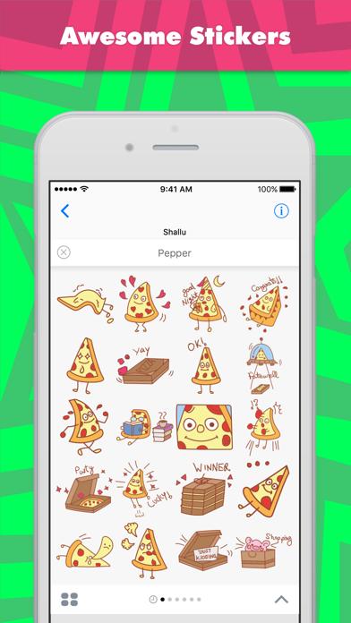 Pepper stickers by Shallu