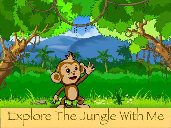 Baby Chimp Runner : Cute Game ipad ekran görüntüleri