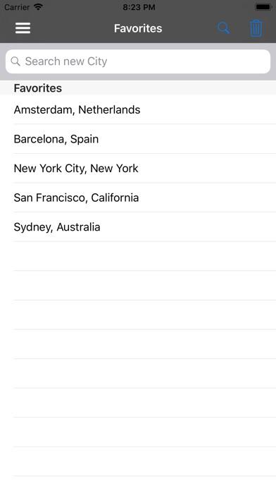 Screenshot for Tides for Fishermen in United States App Store