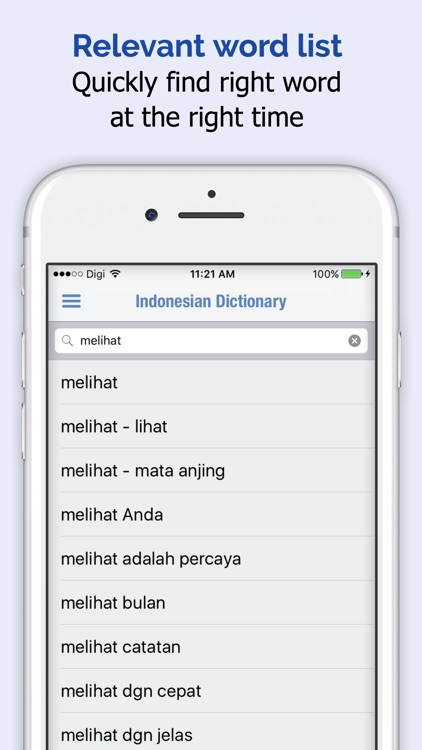 Indonesian Dictionary +