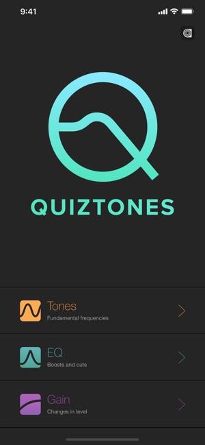 Quiztones: EQ Ear Training