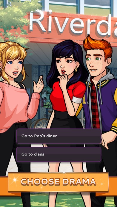 What's Your Story ft Riverdale app image