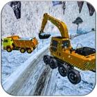 Neve arado caminhão motorista icon