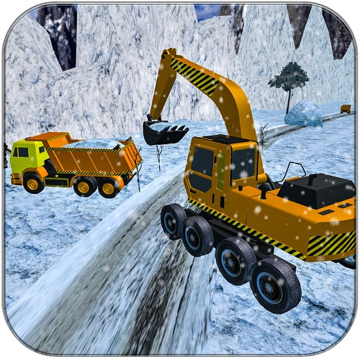 Snow Plow Truck Driver Game