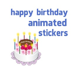 birthday animated stickers