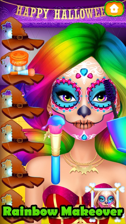 Halloween Makeover Simulator screenshot-4