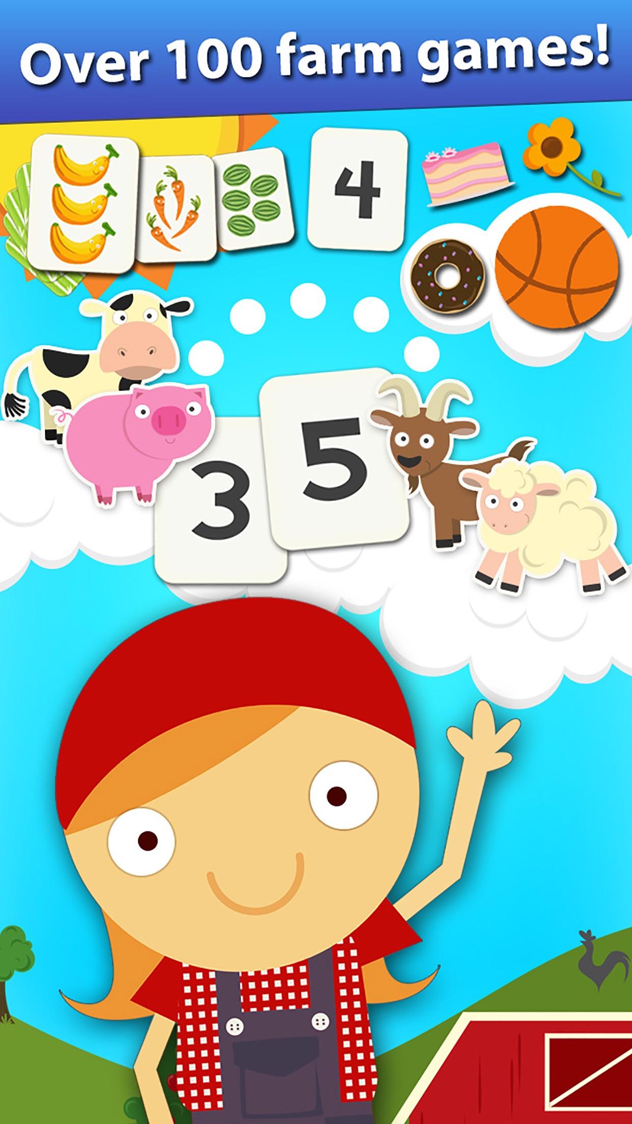 Animal Math Preschool Math Games for Kids Math App Screenshot