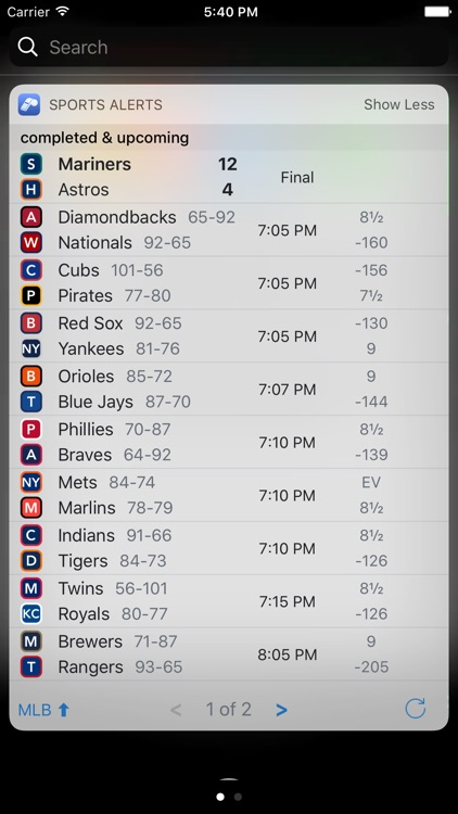 Sports Scores & Alerts screenshot-7