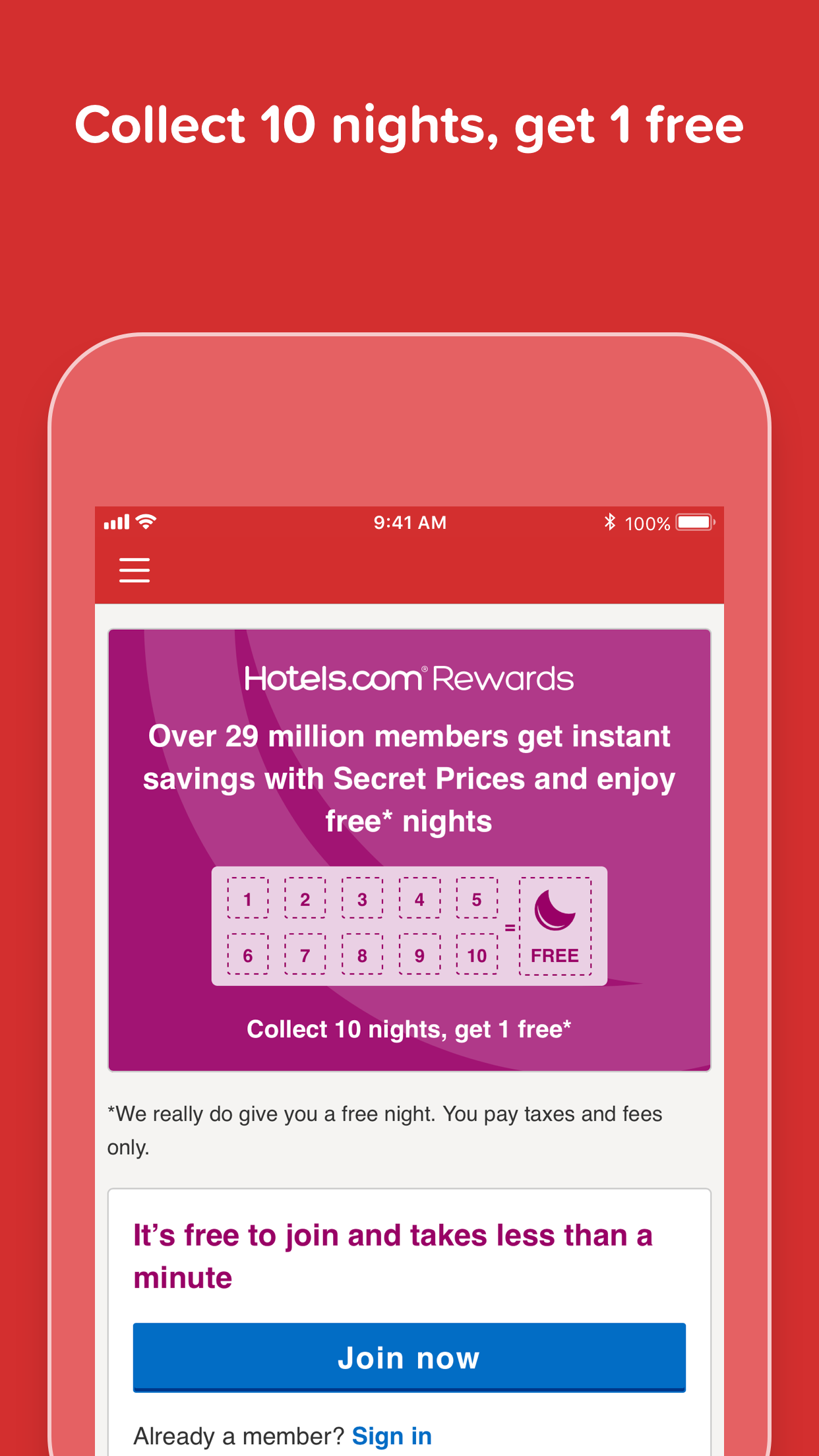 Hotels.com: Easy Hotel Booking Screenshot