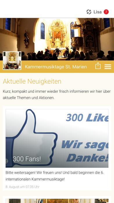 Kammermusiktage St. Marien screenshot 1