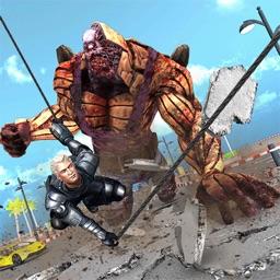 Superhero vs Monsters- Beast Fighting Game