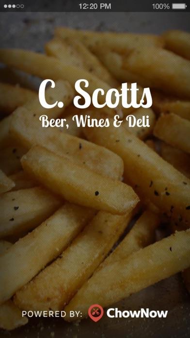 C Scott's Beer Wine & Deli screenshot 1
