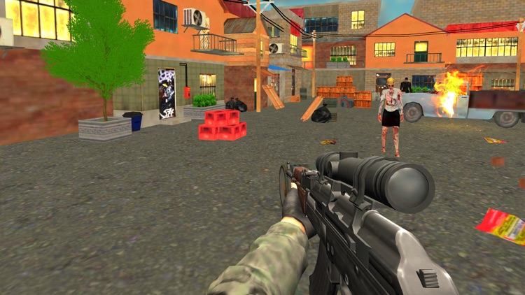 City Zombie Attack screenshot-4