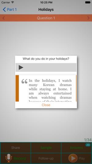 IELTS Speaking Practice on the App Store