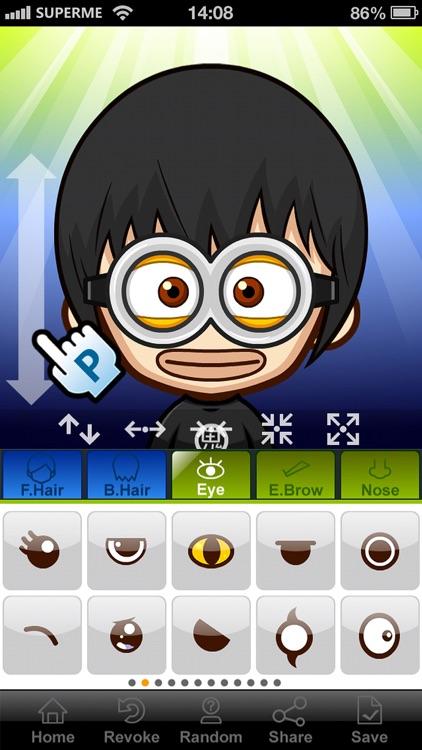 SuperMe—Make comic and cartoon avatar screenshot-4