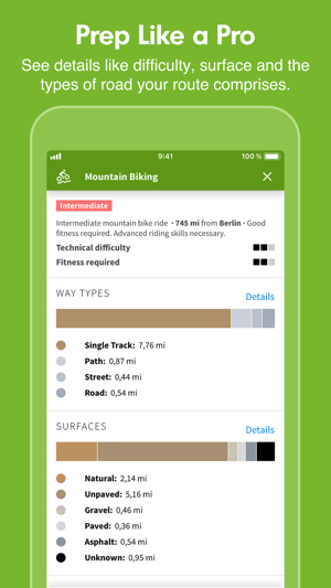 Komoot Cycling Hiking Maps On The App Store