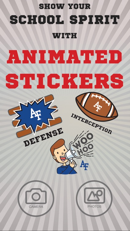 USAF Falcons Animated Stickers