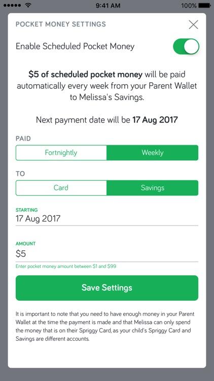 Spriggy Pocket Money screenshot-4