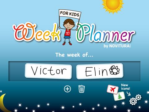 Week Planner for Kids - náhled