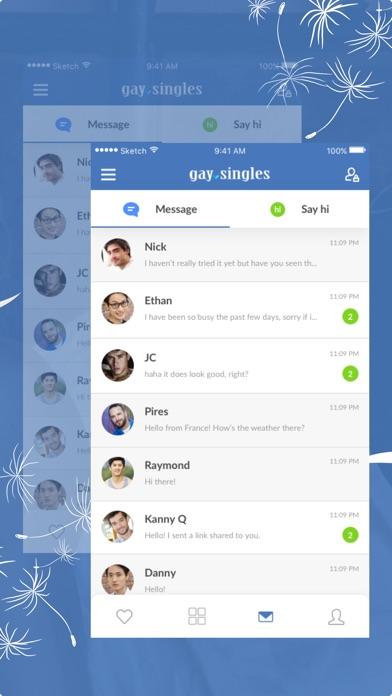 Gay Singles- Dating & Chat App by IgniteTechnologyllc (iOS, United Kingdom)  - SearchMan App Data & Information