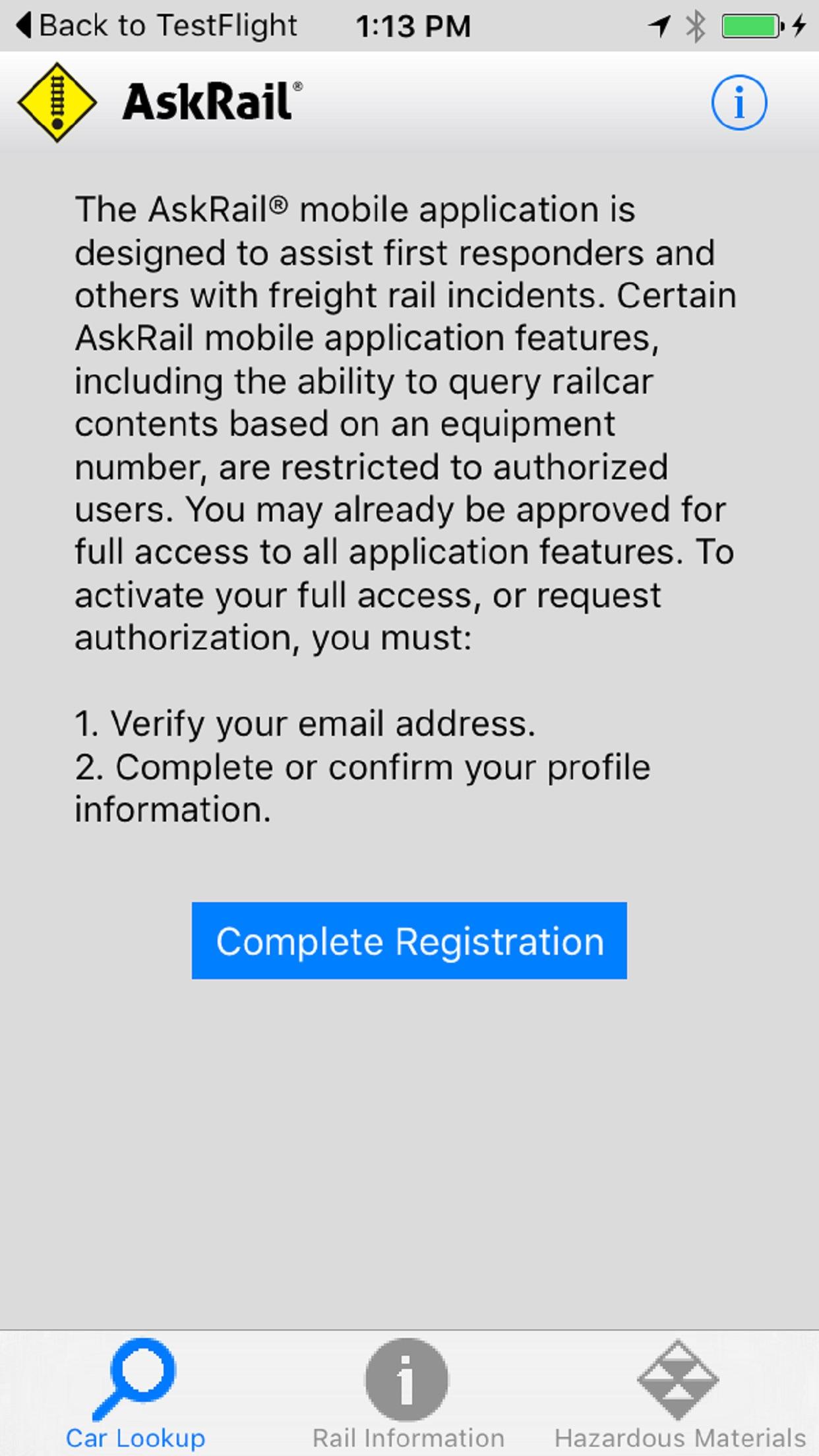 AskRail Screenshot