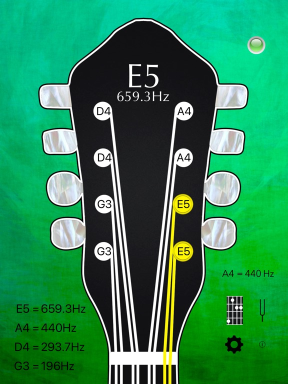 Mandolin Tuner Pro and Chords Screenshots