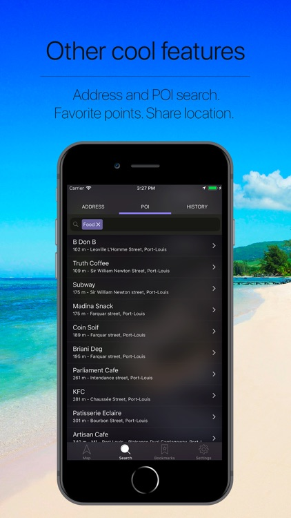 Mauritius Offline Navigation screenshot-4