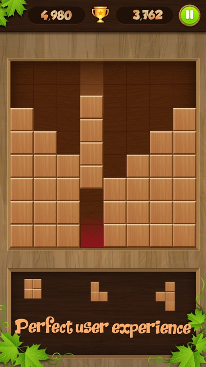 Wooden Puzzle Block Jigsaw screenshot-4