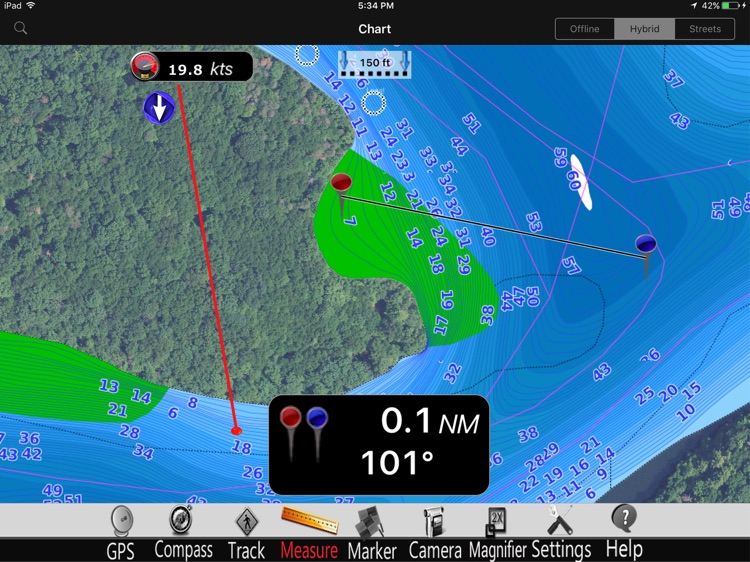 Lillinonah lake GPS Charts Pro screenshot-3