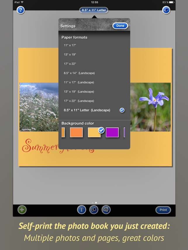 PhotoPrint Pro on the App Store