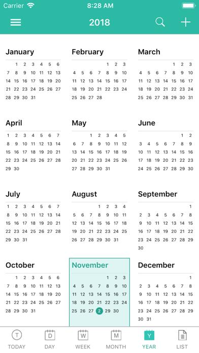 Screen Shot ShiftView - Shift Calender app 4