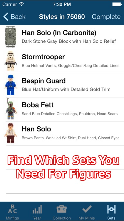 SWMinis - For LEGO® Minifigs screenshot-3