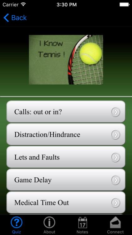 i Know Tennis! screenshot-3