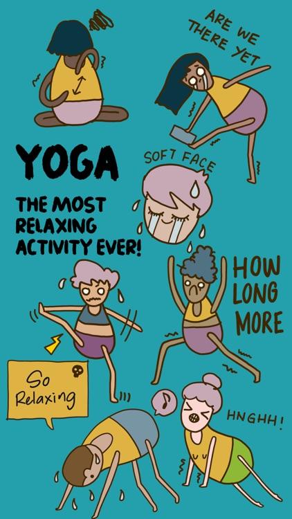 Yoga Yogi Moji