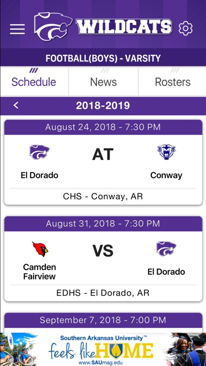 El Dorado Wildcats Athletics screenshot-3