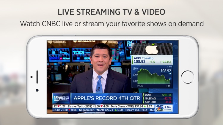 CNBC: Breaking Business News screenshot-4