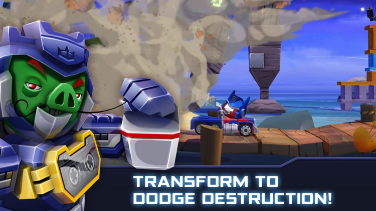 Angry Birds Transformers screenshot-4