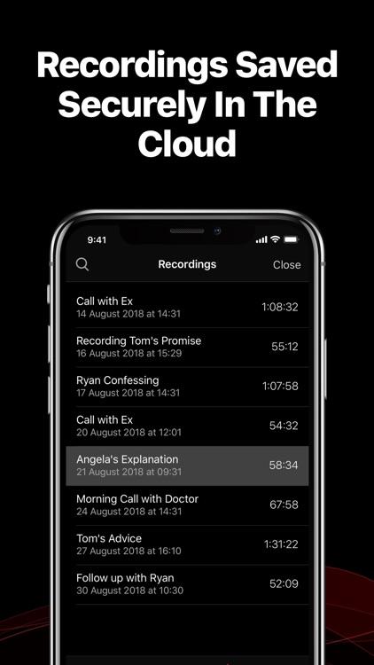 TapeACall Lite: Call Recorder screenshot-4